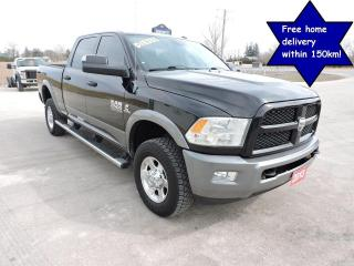 Used 2013 RAM 2500 Outdoorsman Diesel 4X4 Only 152000 km 1 owner for sale in Gorrie, ON