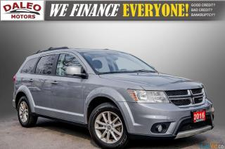 Used 2016 Dodge Journey SXT / 7 PASSENGERS / KEYLESS GO / REAR AC / for sale in Hamilton, ON