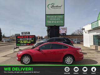 Used 2013 Mazda MAZDA6 GT-I4 LEATHER | SUNROOF | HEATED SEATS | LOW KM's-USED EDMONTON MAZDA DEALER for sale in Edmonton, AB