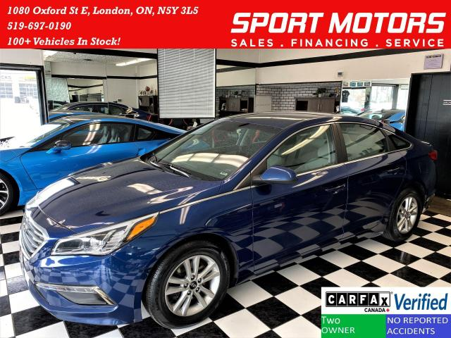 2015 Hyundai Sonata 2.4L GL+New Tires+Camera+HeatedSeats+ACCIDENT FREE