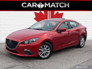 Used 2016 Mazda MAZDA3 GS / SUNROOF / AUTO / NO ACCIDENTS for sale in Cambridge, ON