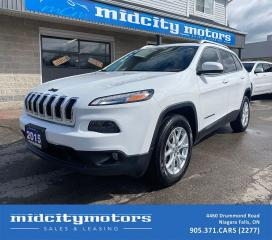 Used 2015 Jeep Cherokee North 4X4 | NAVIGATION | BACKUP CAM | CLEAN CARFAX for sale in Niagara Falls, ON