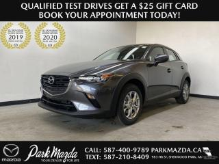 New 2021 Mazda CX-3 GS-L for sale in Sherwood Park, AB