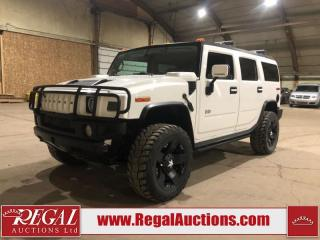 Used 2004 Hummer H2 4D Utility 4WD 6.0L for sale in Calgary, AB