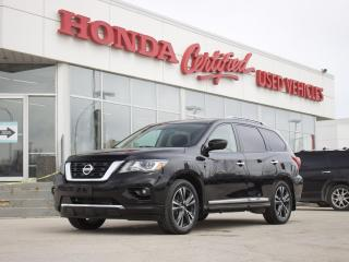 Used 2017 Nissan Pathfinder Platinum AWD| SUNROOF | NAV for sale in Winnipeg, MB