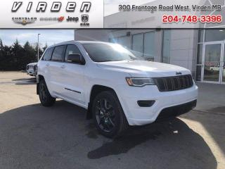 Used 2018 Jeep Grand Cherokee Overland for sale in Virden, MB