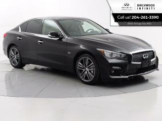 Used 2017 Infiniti Q50 Sport Driver Assistance PKG Bose Audio, 360 Camera's, Navigation for sale in Winnipeg, MB