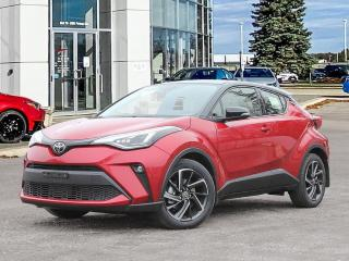 New 2021 Toyota C-HR Limited TWO TONE PAINT for sale in Winnipeg, MB