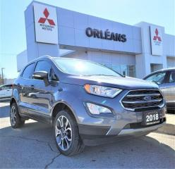 Used 2018 Ford EcoSport Titanium for sale in Orléans, ON