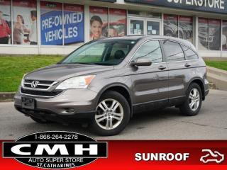 Used 2011 Honda CR-V EX-L  ROOF LEATH P/SEAT HTD-SEATS 17-AL for sale in St. Catharines, ON