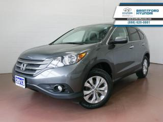 Used 2013 Honda CR-V 1 OWNER | LOW KM | SUNROOF | BACK UP CAM  - $153 B/W for sale in Brantford, ON