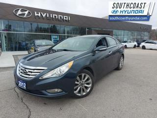 Used 2012 Hyundai Sonata Limited at  - Sunroof -  Leather Seats - $111 B/W for sale in Simcoe, ON