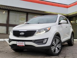 Used 2015 Kia Sportage EX Luxury NAVI | Leather | Pano Roof | Heated & Cooled Seats for sale in Waterloo, ON