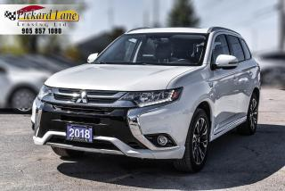 Used 2018 Mitsubishi Outlander Phev SE PHEV! | 1 OWNER! | ACCIDENT FREE! for sale in Bolton, ON
