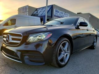 Used 2017 Mercedes-Benz E-Class ONE OWNER|NO ACCIDENT|AMG SPORTS PACKAGE|CERTIFIED for sale in Concord, ON