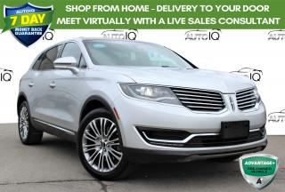 Used 2016 Lincoln MKX Reserve 3.7L V6 PANO SUNROOF NAVIGATION CERTIFIED for sale in Hamilton, ON