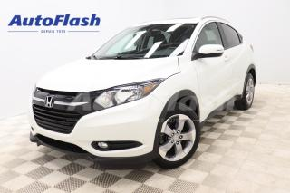 Used 2017 Honda HR-V EXL 4WD *CUIR/LEATHER *TOIT-OUVRANT/SUNROOF *GPS for sale in Saint-Hubert, QC