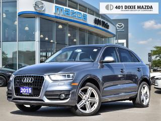 Used 2015 Audi Q3 Technik FINANCE AVAILABLE| NO ACCIDENTS| NAVIGATIO for sale in Mississauga, ON