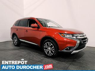 Used 2017 Mitsubishi Outlander GT - V6 - AWD - 7 PASSAGERS - CUIR - CLIMATISEUR for sale in Laval, QC