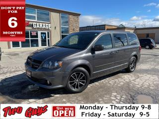 Used 2017 Dodge Grand Caravan GT |  Nav | DVD | Leather | Pwr Sliders + Hatch | for sale in St Catharines, ON