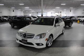 Used 2010 Mercedes-Benz C-Class C300 4MATIC NO ACCIDENTS I LEATHER I SUNROOF I HEATED SEATS for sale in Mississauga, ON
