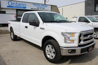 Used 2017 Ford F-150 XLT 4WD SuperCab 8FT LONG BOX  5.0L Engine for sale in Mississauga, ON