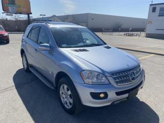 Used 2008 Mercedes-Benz ML-Class 4MATIC|3.5L for sale in Scarborough, ON
