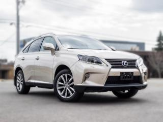 Used 2015 Lexus RX 450h Hybrid | NAV |BACK UP |B.SPOT | ROOF | CLEAN CARFAX for sale in North York, ON
