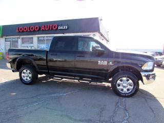 Used 2017 RAM 2500 OUTDOORSMAN CUMMINS Turbo Diesel Crew Cab 4WD for sale in Milton, ON