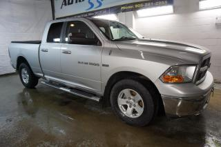 Used 2011 Dodge Ram 1500 V8 SLT HEMI CERTIFIED 2YR WARRANTY *1 OWNER* BLUETOOTH CRUISE ALLOYS BED COVER & LINER for sale in Milton, ON