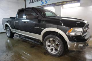 Used 2009 Dodge Ram 1500 LARAMIE HEMI CAMERA HEAT/COOL LEATHER SUNROOF BLUETOOTH CRUISE CHROME for sale in Milton, ON