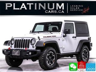 Used 2017 Jeep Wrangler Rubicon, V6 285HP, MANUAL, NAV, BT, HEATED for sale in Toronto, ON