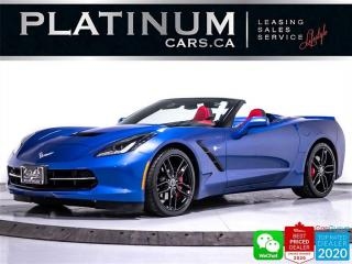 Used 2016 Chevrolet Corvette Stingray LT3, CONVERTIBLE, PDR, HEATED/VENTED, CAM for sale in Toronto, ON