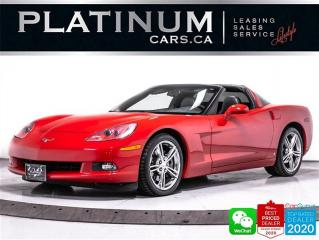 Used 2008 Chevrolet Corvette 430HP, MANUAL, LEATHER, TARGA TOP, AUX, SAT RADIO for sale in Toronto, ON