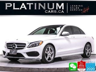 Used 2017 Mercedes-Benz C-Class C300 Sport 4MATIC, CAM, NAV, HEATED, AMG EXTERIOR for sale in Toronto, ON