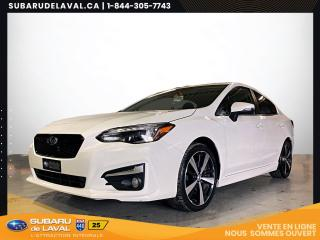 Used 2018 Subaru Impreza Sport-tech Sedan Awd *Toit ouvrant* for sale in Laval, QC