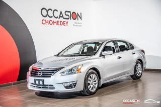 Used 2015 Nissan Altima 2.5S+CAMERA DE RECUL+REG DE VITESSE for sale in Laval, QC