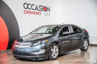Used 2013 Chevrolet Volt EV+CAMERA DE RECUL+CUIR CHAUFFANT+BLUETHOOTH for sale in Laval, QC