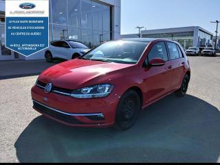 Used 2018 Volkswagen Golf Comfortline 5 portes avec boîte manuelle for sale in Victoriaville, QC