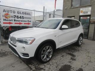 Used 2016 BMW X3 xDrive28i 4 portes AWD XLine for sale in Montréal, QC