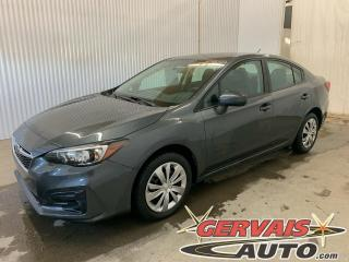 Used 2018 Subaru Impreza Convenience AWD A/C Caméra *Bas Kilométrage* for sale in Shawinigan, QC