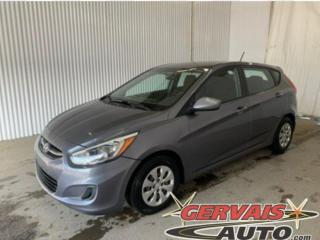 Used 2016 Hyundai Accent GL HATCHBACK A/C SIÈGES CHAUFFANTS BLUETOOTH *Transmission Automatique* for sale in Trois-Rivières, QC