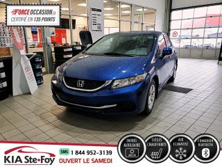 Used 2013 Honda Civic LX* SIEGES CHAUFFANTS* BLUETOOTH* GROUPE for sale in Québec, QC