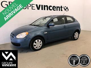 Used 2010 Hyundai Accent L / À HAYON ** AUTOMATIQUE ** Fiable et économique, à bas kilométrage, parfait pour petit budget! for sale in Shawinigan, QC