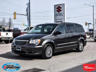 Used 2016 Chrysler Town & Country Touring ~Nav ~Dual DVD ~Cam ~Leather ~Power Doors for sale in Barrie, ON