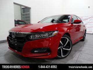 Used 2020 Honda Accord SPORT + RABAIS DE 1500 $ ! for sale in Trois-Rivières, QC