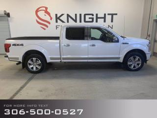 Used 2018 Ford F-150 PLATINUM for sale in Moose Jaw, SK