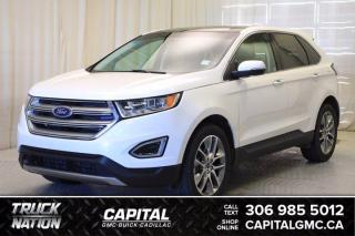 Used 2016 Ford Edge Titanium AWD*LEATHER*SUNROOF*NAV* for sale in Regina, SK