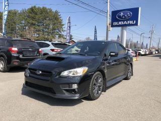 Used 2017 Subaru WRX Berline 4 portes BM for sale in Victoriaville, QC