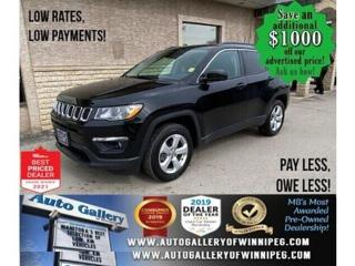 Used 2018 Jeep Compass North* 4x4/Satellite Radio/REMOTE STARTER for sale in Winnipeg, MB
